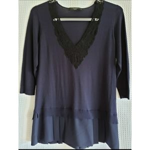 Last SALE❣Donating  MaxMara WEEKEND lace Blouse  S